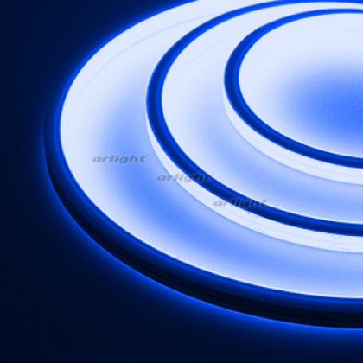 Гибкий неон ARL-MOONLIGHT-1213-TOP 24V Blue (ARL, 8 Вт/м, IP67)