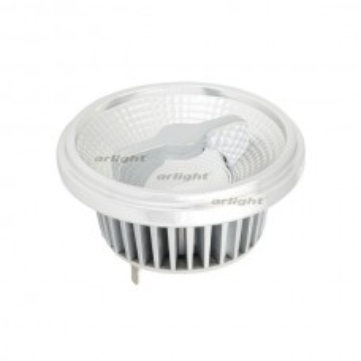 Лампа Arlight AR111-FORT-G53-12W-DIM Warm3000 (Reflector, 24 deg, драйвер 350mA) Металл 026885
