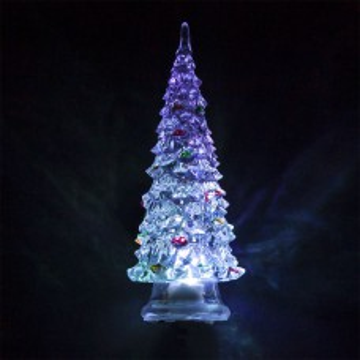 Световая фигура, прозрачный пластик, 1LED RGB, 3*AG13, 140мм, LT130 32379