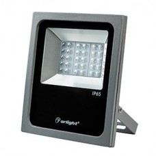 Светодиодный прожектор Arlight AR-FLAT-ARCHITECT-30W-220V White (Grey, 50x70 deg)
