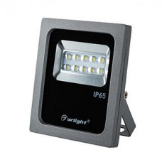 Светодиодный прожектор Arlight AR-FLG-FLAT-ARCHITECT-10W-220V Warm 50x70 deg