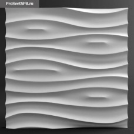 Гипсовая 3D панель Аин