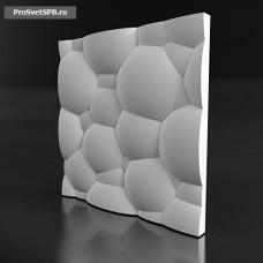 Форма для 3D панелей Balls