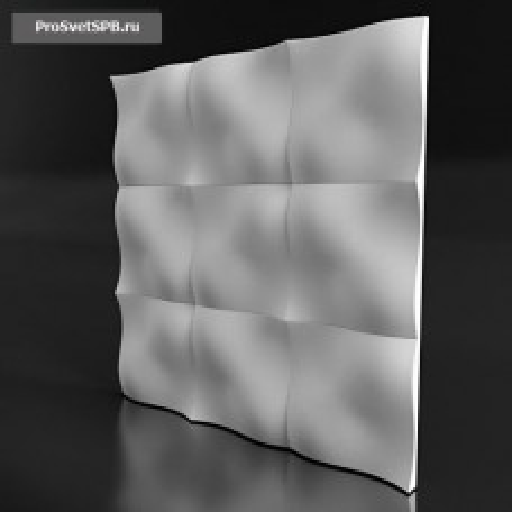 Гипсовая 3D панель Dos