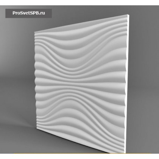 Гипсовая 3D панель Глобба