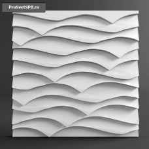 Гипсовая 3D панель Хедус