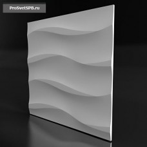 Гипсовая 3D панель Plain