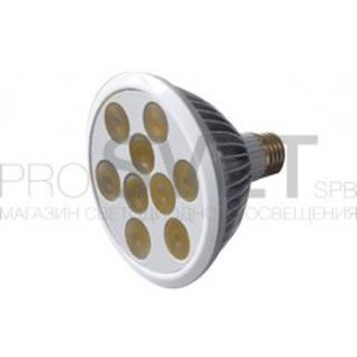 Светодиодная лампа E27 MDSV-PAR30-9x1W 35deg Warm