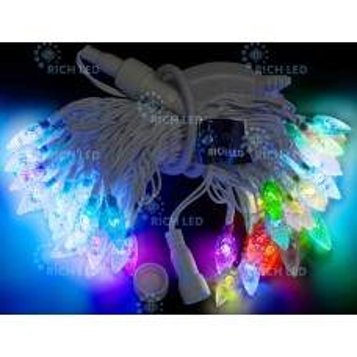 "Светодиодная гирлянда Rich LED &quotШишки"" RGB"