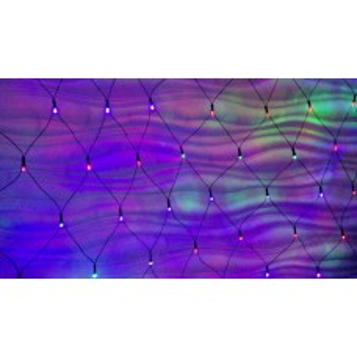 Гирлянда-сеть светодиодная RGB 2x2 м S2X200BL