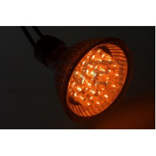 Лампа SL-MR16 (18 светодиодов) 12V желтая (цоколь GU 5.3) NN-406-111
